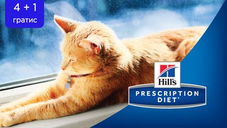 Hill's – Програма за лечебно хранене – 4+1 безплатно